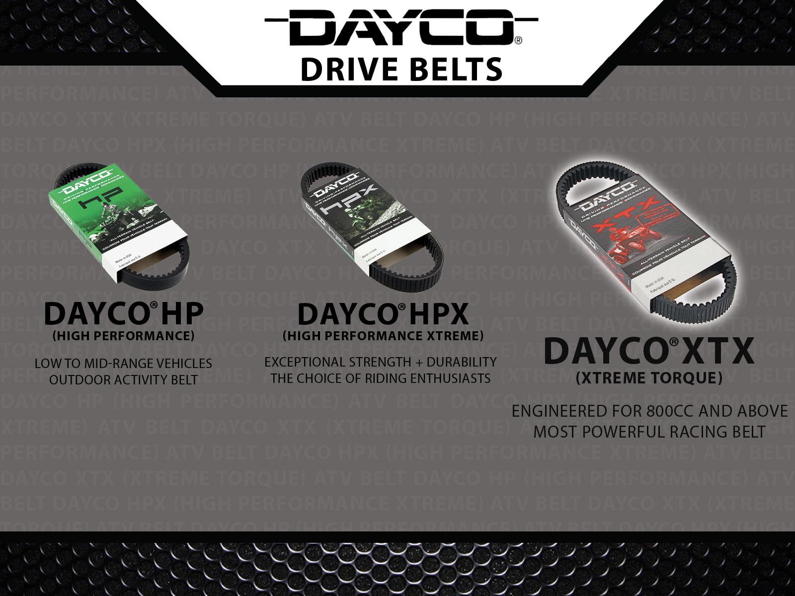 Sixity Dayco Drive Belts