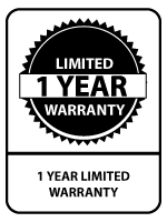 Sixity 1-Year Warranty