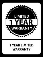 Sixity 1-Year Warranty