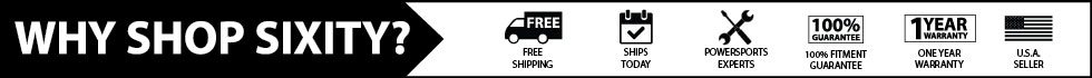 shop sixity for free shipping and a one year warranty