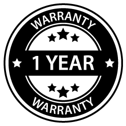 Sixity 1 Year Warranty